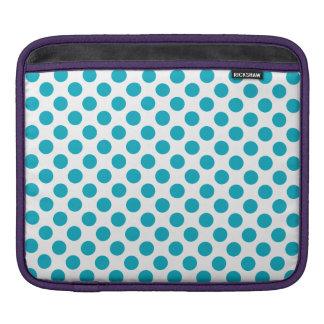 Bolsa Para iPad Bolinhas profundas do Aqua