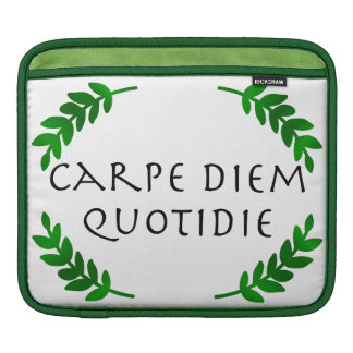 Bolsa Para iPad Carpe Diem Quotidie - apreenda o dia, cada dia