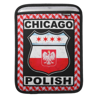 Bolsa Para iPad Caso americano polonês do iPad de Chicago