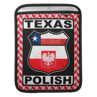 Bolsa Para iPad Caso americano polonês do iPad de Texas