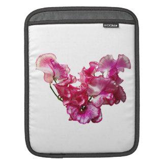 Bolsa Para iPad Coração cor-de-rosa da ervilha doce