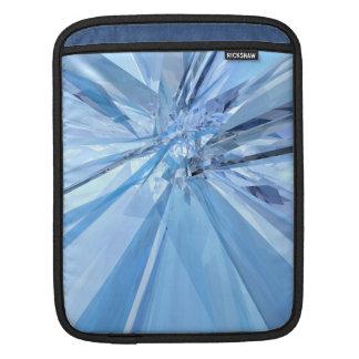 Bolsa Para iPad Cristais azuis