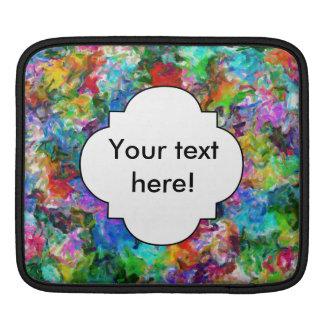 Bolsa Para iPad Design colorido do abstrato da mistura