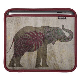 Bolsa Para iPad Elefante tribal do zen