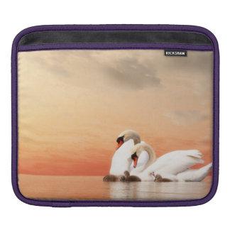 Bolsa Para iPad Família da cisne