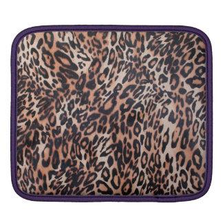 Bolsa Para iPad Impressão da pele do leopardo