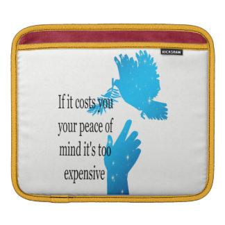 Bolsa Para iPad luva de iPod se lhe custa sua paz de espírito