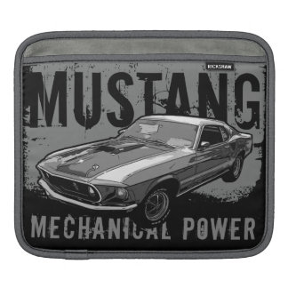 Bolsa Para iPad Poder mecânico do mustang