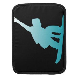 Bolsa Para iPad snowboarder do azul do inclinação