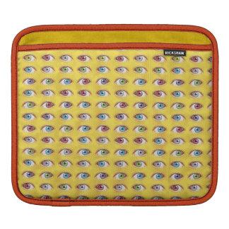 Bolsa Para iPad Telefone do olho no fundo de intervalo mínimo
