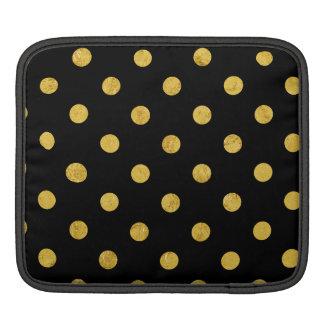 Bolsa Para iPad Teste padrão de bolinhas elegante da folha do