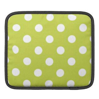 Bolsa Para iPad Teste padrão de bolinhas verde