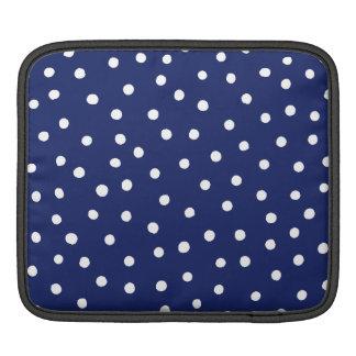 Bolsa Para iPad Teste padrão de pontos dos confetes dos azuis