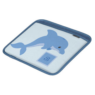 Bolsa Para iPad Um golfinho feliz bonito