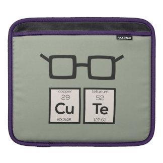 Bolsa Para iPad Vidros bonitos Zwp34 do nerd do elemento químico