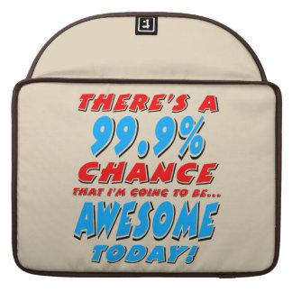 Bolsa Para MacBook 99,9% IR SER IMPRESSIONANTE (preto)