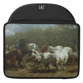 Bolsa Para MacBook A feira de cavalo pela luva de Rosa Bonheur