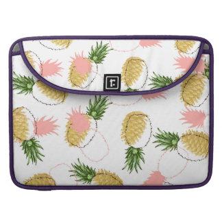 Bolsa Para MacBook Abacaxis & cones do pinho