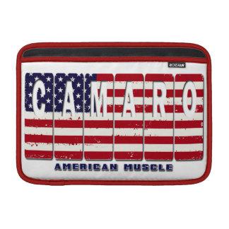 Bolsa Para MacBook Air Bandeira patriótica do carro do músculo de Chevy