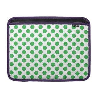 Bolsa Para MacBook Air Bolinhas verdes