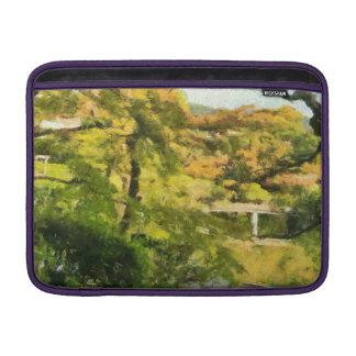 Bolsa Para MacBook Air Costa de um lago pequeno