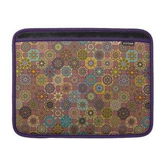 Bolsa Para MacBook Air Design abstrato colorido do teste padrão do