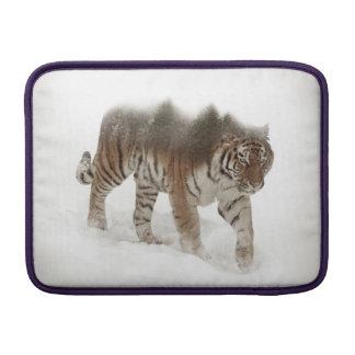 Bolsa Para MacBook Air Exposição-animais selvagens tigre-Tigre-dobro