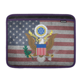 Bolsa Para MacBook Air Grande selo dos Estados Unidos