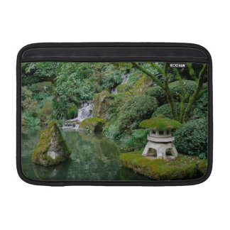 Bolsa Para MacBook Air Jardins japoneses calmos