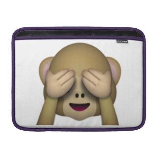 Bolsa Para MacBook Air Não veja nenhum macaco mau - Emoji