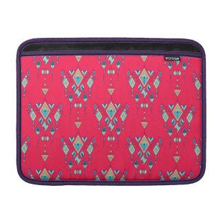 Bolsa Para MacBook Air Ornamento asteca tribal étnico do vintage