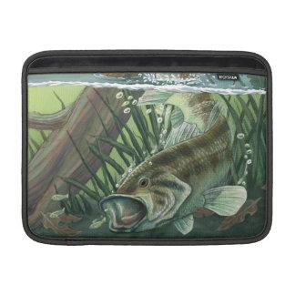 Bolsa Para MacBook Air Pesca da perda Largemouth