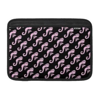 Bolsa Para MacBook Air rosa do cavalo marinho