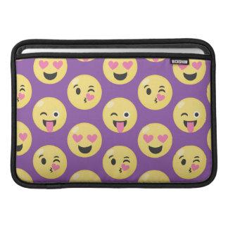 Bolsa Para MacBook Air Teste padrão do amor de Emoji