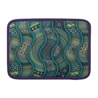 Bolsa Para MacBook Air Teste padrão floral étnico abstrato colorido da