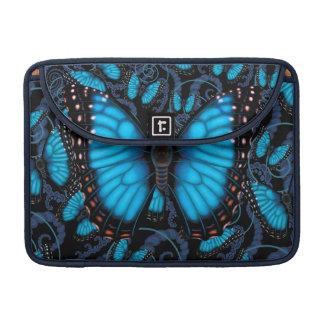 Bolsa Para MacBook Borboleta azul de Morpho
