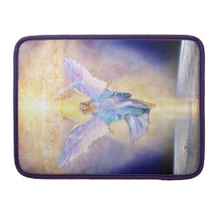 Bolsa Para MacBook Céu V056 & anjo da terra