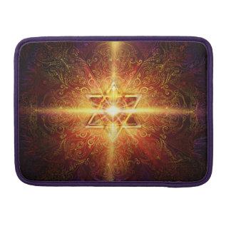 Bolsa Para MacBook Coração H113 no vermelho da estrela