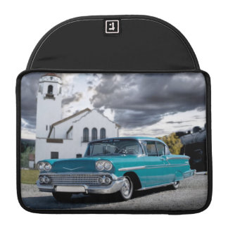 Bolsa Para MacBook De Chevy do Bel Air do carro depósito 1958 de trem