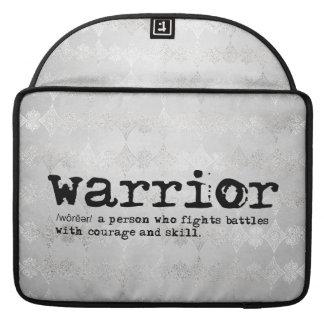 Bolsa Para MacBook Definição do guerreiro