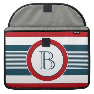 Bolsa Para MacBook Design do monograma