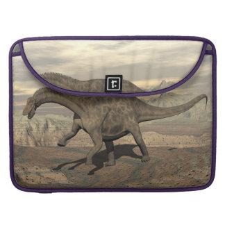Bolsa Para MacBook Dinossauro do Dicraeosaurus que anda - 3D rendem