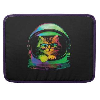 Bolsa Para MacBook Gato do hipster - astronauta do gato - espace o