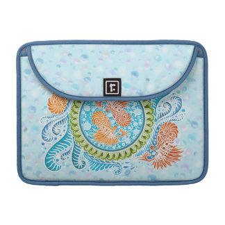 Bolsa Para MacBook Harmonia dos mares, boho, hippie, boémio
