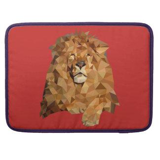 Bolsa Para MacBook Leão luva de MacBook Pro de um à prova de água de