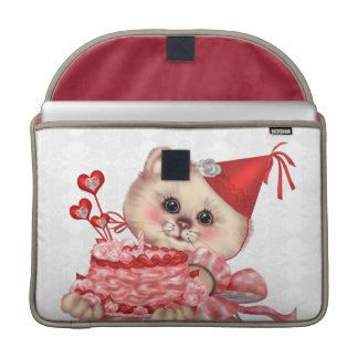 "Bolsa Para MacBook Luva 15"" de Macbook do rickshaw do CAT do BOLO PRO"