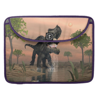 Bolsa Para MacBook Pesca do dinossauro de Prestosuchus - 3D rendem