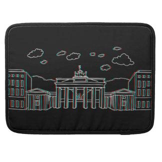 Bolsa Para MacBook Porta de Brandemburgo em Berlim 3-D
