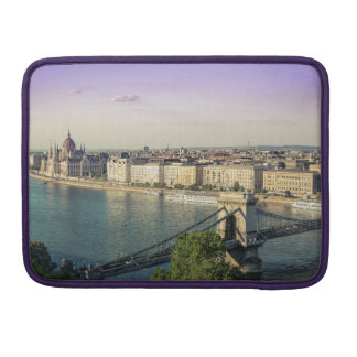 Bolsa Para MacBook Pro Arquitectura da cidade de Budapest
