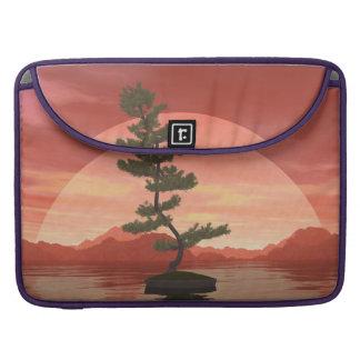 Bolsa Para MacBook Pro Árvore dos bonsais do pinho escocês - 3D rendem